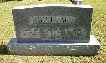 GILLUM, NANCY JANE - Elliott County, Kentucky | NANCY JANE GILLUM - Kentucky Gravestone Photos