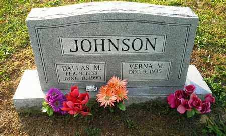 JOHNSON, DALLAS M - Elliott County, Kentucky | DALLAS M JOHNSON - Kentucky Gravestone Photos