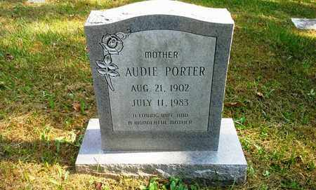 PORTER, AUDIE - Elliott County, Kentucky | AUDIE PORTER - Kentucky Gravestone Photos
