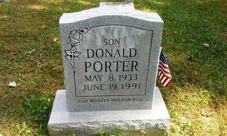 PORTER, DONALD - Elliott County, Kentucky | DONALD PORTER - Kentucky Gravestone Photos