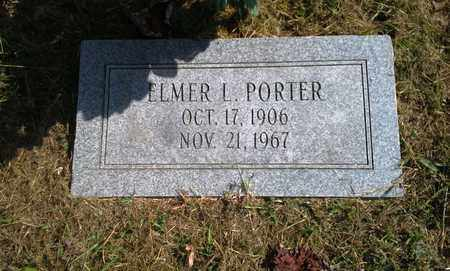 PORTER, ELMER L - Elliott County, Kentucky | ELMER L PORTER - Kentucky Gravestone Photos