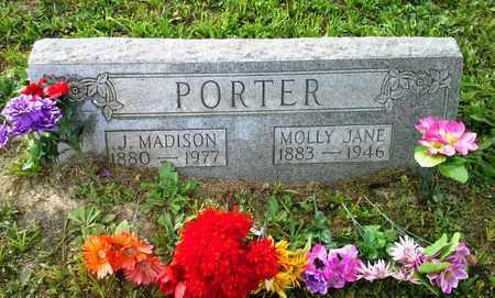 PORTER, J MADISON - Elliott County, Kentucky | J MADISON PORTER - Kentucky Gravestone Photos