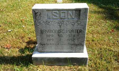 PORTER, RAYMOND G - Elliott County, Kentucky | RAYMOND G PORTER - Kentucky Gravestone Photos