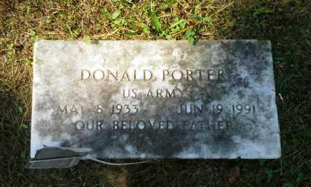 PORTER (VETERAN), DONALD - Elliott County, Kentucky | DONALD PORTER (VETERAN) - Kentucky Gravestone Photos