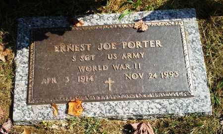 PORTER (VETERAN WWII), ERNEST JOE - Elliott County, Kentucky | ERNEST JOE PORTER (VETERAN WWII) - Kentucky Gravestone Photos