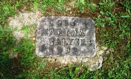 SALYERS, MARTHA - Elliott County, Kentucky | MARTHA SALYERS - Kentucky Gravestone Photos