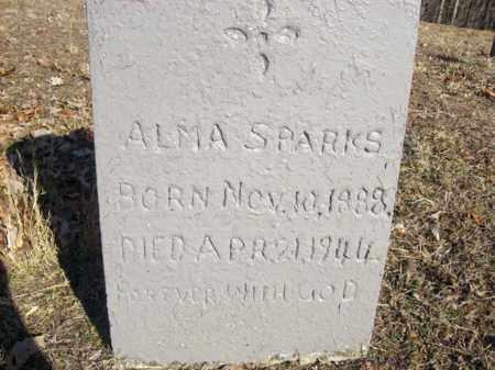 SPARKS, ALMA - Elliott County, Kentucky | ALMA SPARKS - Kentucky Gravestone Photos