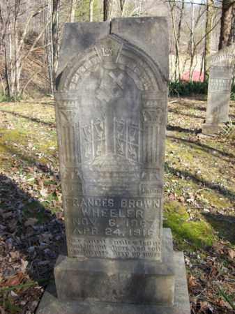 WHEELER, FRANCES - Elliott County, Kentucky | FRANCES WHEELER - Kentucky Gravestone Photos