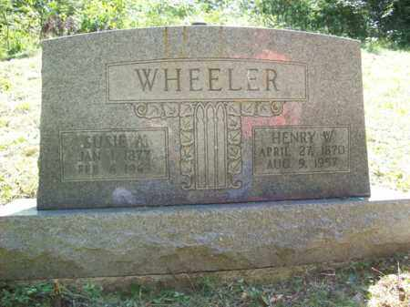 WHEELER, HENRY W - Elliott County, Kentucky | HENRY W WHEELER - Kentucky Gravestone Photos