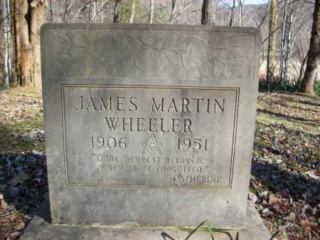 WHEELER, JAMES MARTIN - Elliott County, Kentucky | JAMES MARTIN WHEELER - Kentucky Gravestone Photos