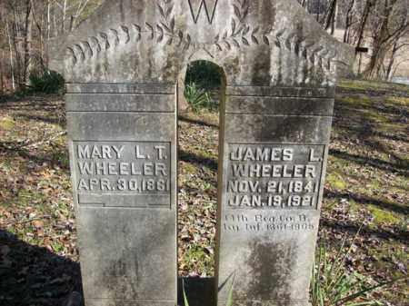WHEELER, MARY L T - Elliott County, Kentucky | MARY L T WHEELER - Kentucky Gravestone Photos