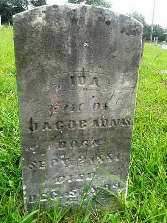ADAMS, IDA - Fleming County, Kentucky | IDA ADAMS - Kentucky Gravestone Photos