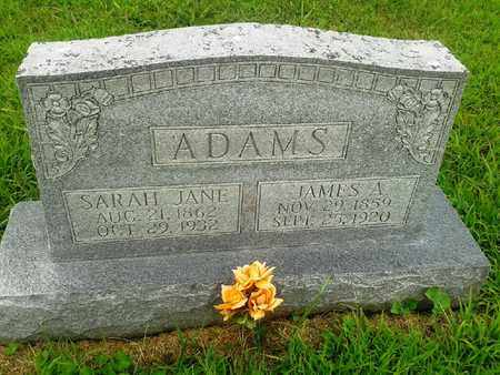 ADAMS, JAMES A - Fleming County, Kentucky | JAMES A ADAMS - Kentucky Gravestone Photos