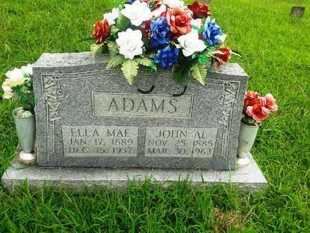 ADAMS, ELLA MAE - Fleming County, Kentucky   ELLA MAE ADAMS - Kentucky Gravestone Photos