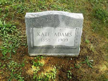 ADAMS, KATE - Fleming County, Kentucky | KATE ADAMS - Kentucky Gravestone Photos