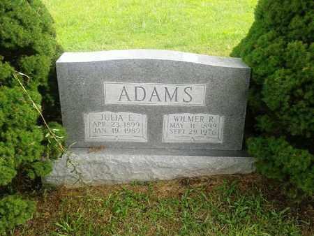 ADAMS, JULIA E - Fleming County, Kentucky   JULIA E ADAMS - Kentucky Gravestone Photos