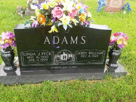 PECK ADMAS, LINDA J - Fleming County, Kentucky | LINDA J PECK ADMAS - Kentucky Gravestone Photos