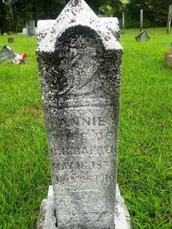 BARBER, ANNIE - Fleming County, Kentucky   ANNIE BARBER - Kentucky Gravestone Photos