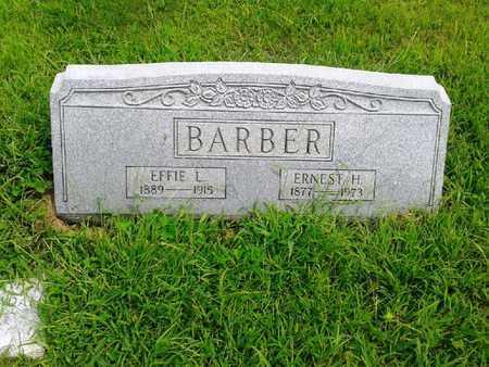 BARBER, EFFIE L - Fleming County, Kentucky | EFFIE L BARBER - Kentucky Gravestone Photos