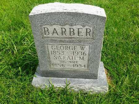 BARBER, GEORGE W - Fleming County, Kentucky   GEORGE W BARBER - Kentucky Gravestone Photos