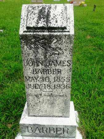 BARBER, JOHN JAMES - Fleming County, Kentucky | JOHN JAMES BARBER - Kentucky Gravestone Photos