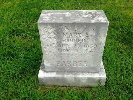 BARBER, MARY L - Fleming County, Kentucky | MARY L BARBER - Kentucky Gravestone Photos