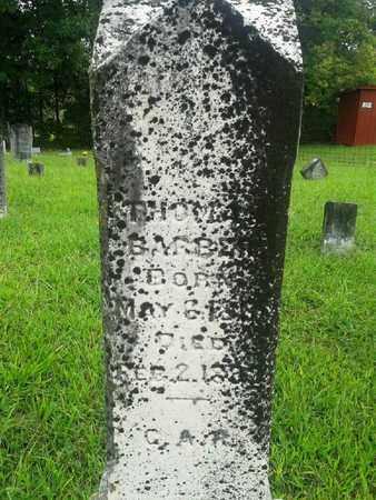BARBER, THOMAS - Fleming County, Kentucky | THOMAS BARBER - Kentucky Gravestone Photos
