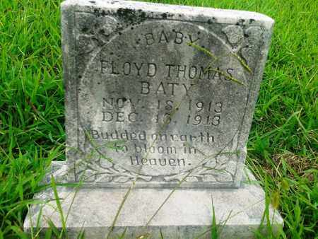 BATY, FLOYD THOMAS - Fleming County, Kentucky | FLOYD THOMAS BATY - Kentucky Gravestone Photos