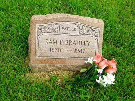 BRADLEY, SAM E - Fleming County, Kentucky | SAM E BRADLEY - Kentucky Gravestone Photos