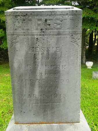 BURK, BESSIE - Fleming County, Kentucky   BESSIE BURK - Kentucky Gravestone Photos