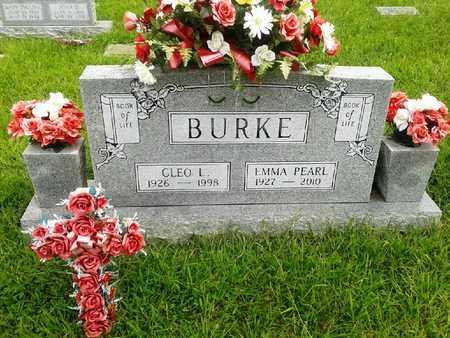 BURKE, CLEO L - Fleming County, Kentucky | CLEO L BURKE - Kentucky Gravestone Photos