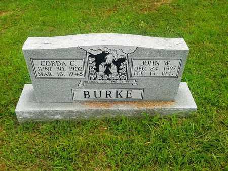 BURKE, JOHN W - Fleming County, Kentucky   JOHN W BURKE - Kentucky Gravestone Photos