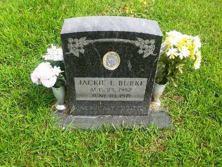 BURKE, JACKIE L - Fleming County, Kentucky | JACKIE L BURKE - Kentucky Gravestone Photos