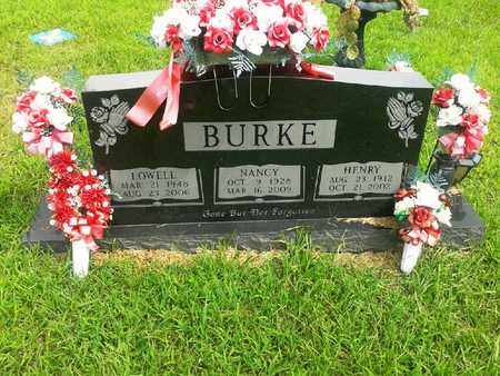 BURKE, NANCY - Fleming County, Kentucky | NANCY BURKE - Kentucky Gravestone Photos