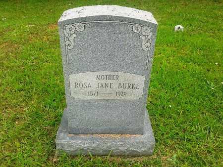 BURKE, ROSA JANE - Fleming County, Kentucky   ROSA JANE BURKE - Kentucky Gravestone Photos