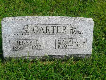 CARTER, MAHALA J - Fleming County, Kentucky | MAHALA J CARTER - Kentucky Gravestone Photos