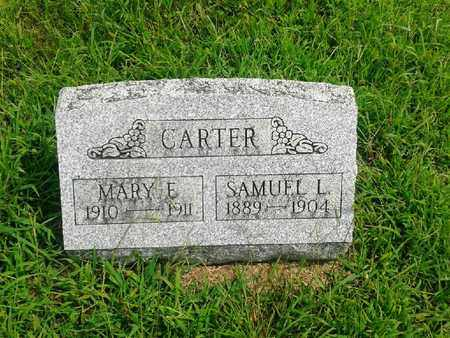 CARTER, SAMUEL L - Fleming County, Kentucky | SAMUEL L CARTER - Kentucky Gravestone Photos