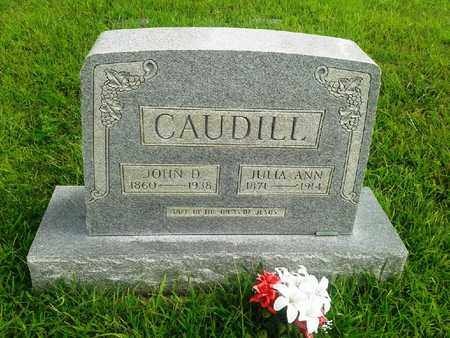 CAUDILL, JOHN D - Fleming County, Kentucky | JOHN D CAUDILL - Kentucky Gravestone Photos