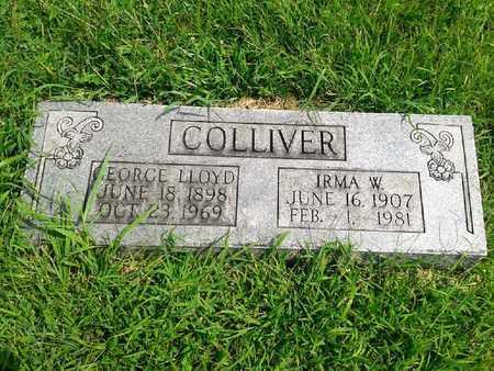 COLLIVER, IRMA W - Fleming County, Kentucky | IRMA W COLLIVER - Kentucky Gravestone Photos