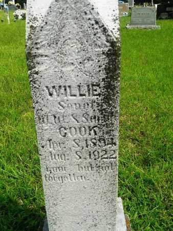 COOK, WILLIE - Fleming County, Kentucky | WILLIE COOK - Kentucky Gravestone Photos