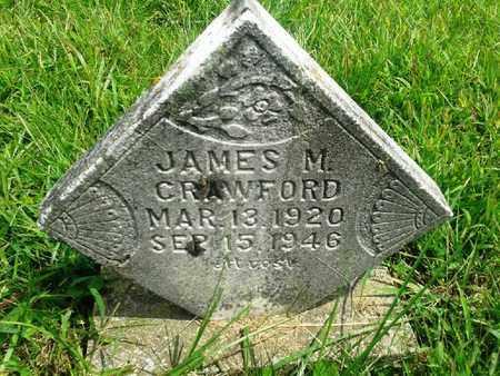 CRAWFORD, JAMES M - Fleming County, Kentucky | JAMES M CRAWFORD - Kentucky Gravestone Photos