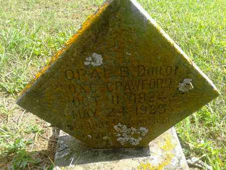 CRAWFORD, OPAL B - Fleming County, Kentucky | OPAL B CRAWFORD - Kentucky Gravestone Photos