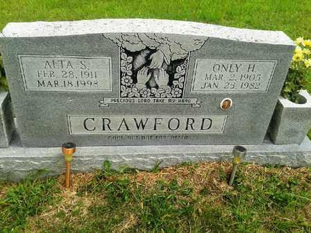 CRAWFORD, ALTA S - Fleming County, Kentucky | ALTA S CRAWFORD - Kentucky Gravestone Photos