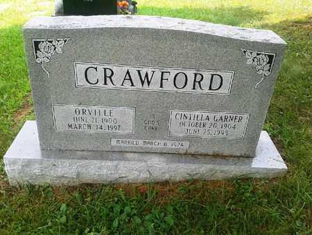 GARNER CRAWFORD, CINTILLA - Fleming County, Kentucky | CINTILLA GARNER CRAWFORD - Kentucky Gravestone Photos
