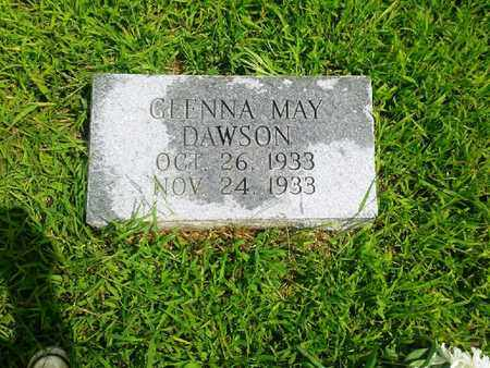 DAWSON, GLENNA MAY - Fleming County, Kentucky | GLENNA MAY DAWSON - Kentucky Gravestone Photos