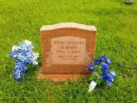 DEBOARD, JOHN BUNYAN - Fleming County, Kentucky   JOHN BUNYAN DEBOARD - Kentucky Gravestone Photos