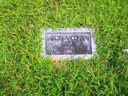 DYER, VIRGINIA CONWAY - Fleming County, Kentucky | VIRGINIA CONWAY DYER - Kentucky Gravestone Photos