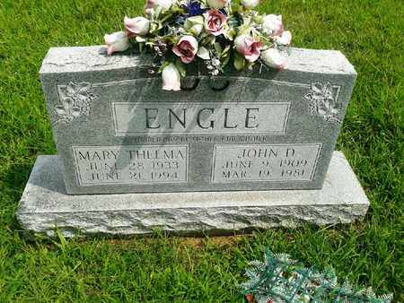 ENGLE, MARY THELMA - Fleming County, Kentucky | MARY THELMA ENGLE - Kentucky Gravestone Photos