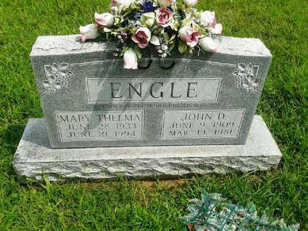 ENGLE, JOHN D - Fleming County, Kentucky | JOHN D ENGLE - Kentucky Gravestone Photos