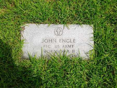 ENGLE (VETERAN WWII), JOHN - Fleming County, Kentucky | JOHN ENGLE (VETERAN WWII) - Kentucky Gravestone Photos